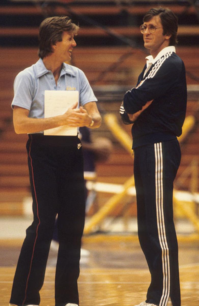 Paul Westhead and Pat Riley