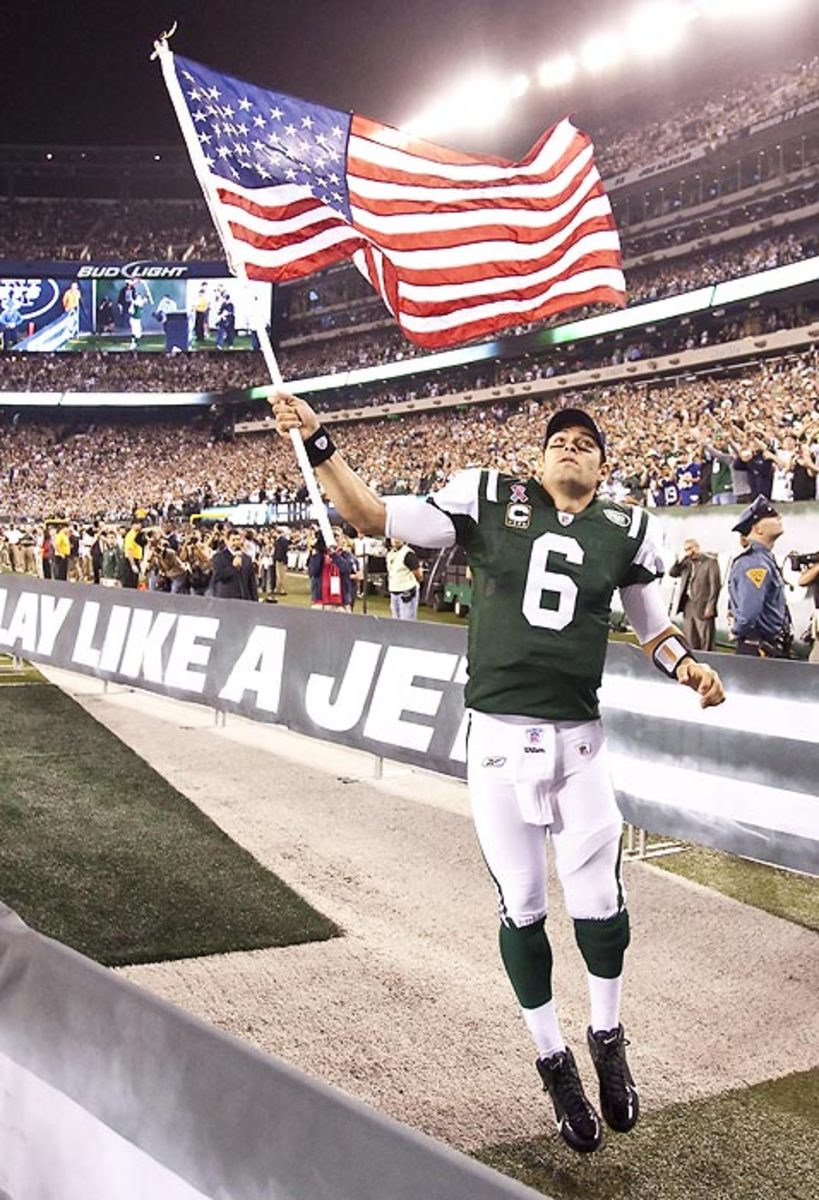 Jets QB Mark Sanchez