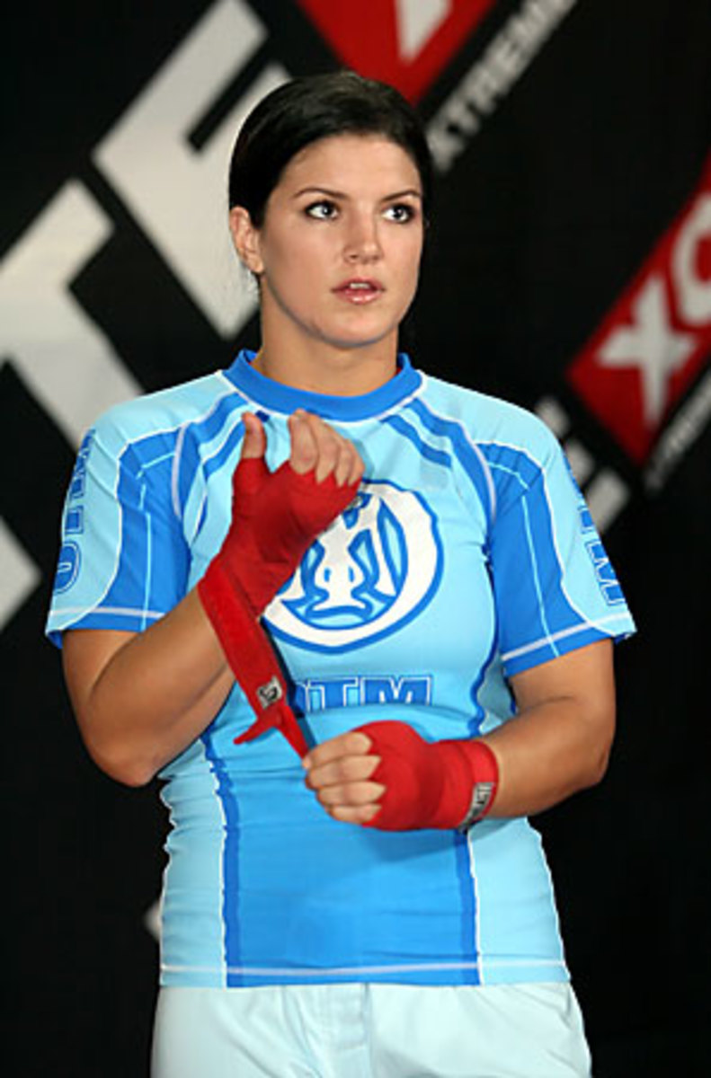 - Illustrated Q&A Gina with Carano Sports