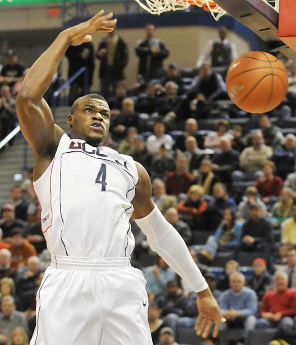 No. 12 Georgetown at No. 2 UConn