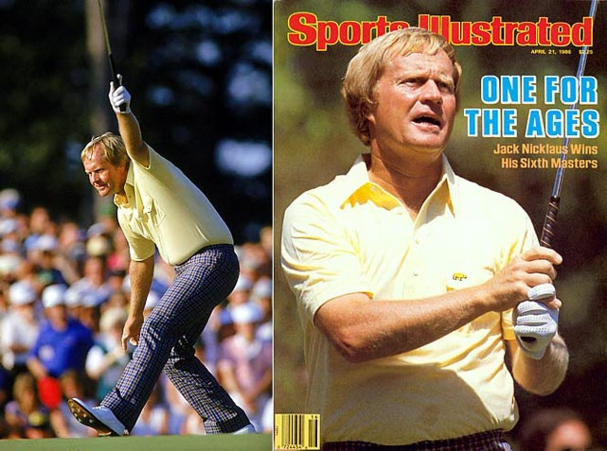 Nicklaus wins Masters