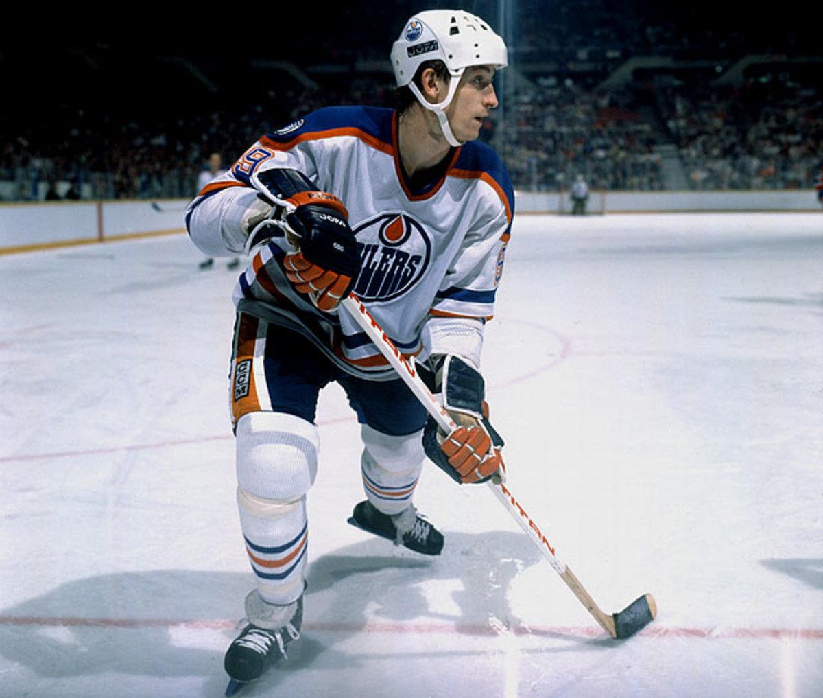Gretzky sets points record