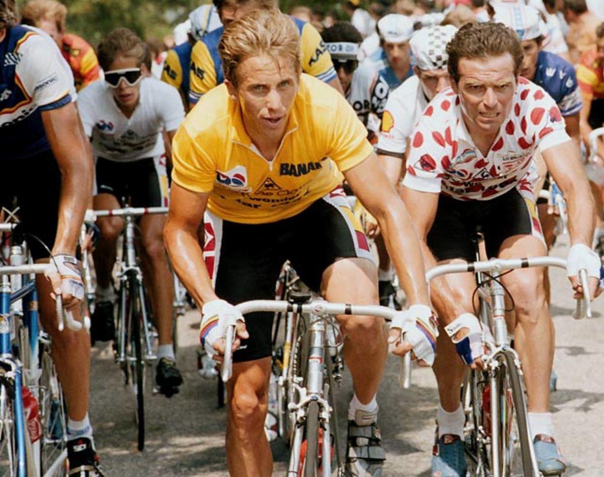 LeMond makes history