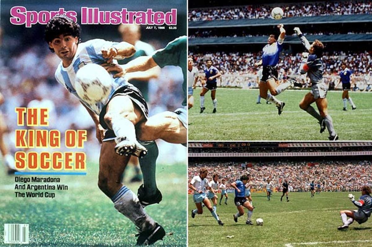 Maradona dazzles
