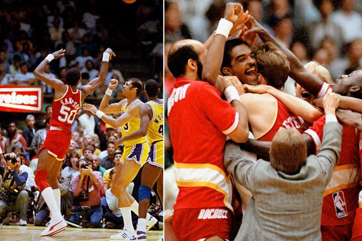 Rockets stun Lakers