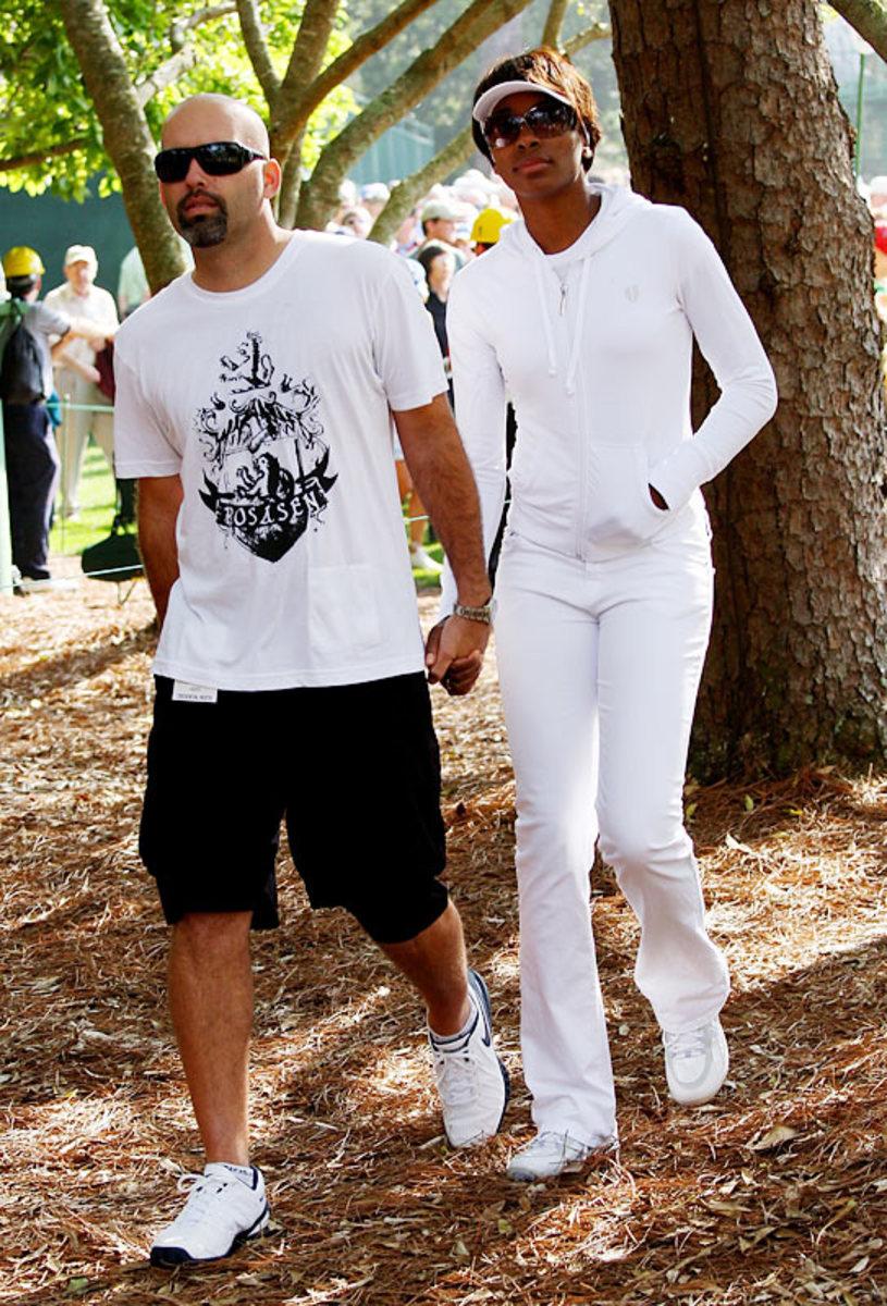 Hank Kuehne and Venus Williams