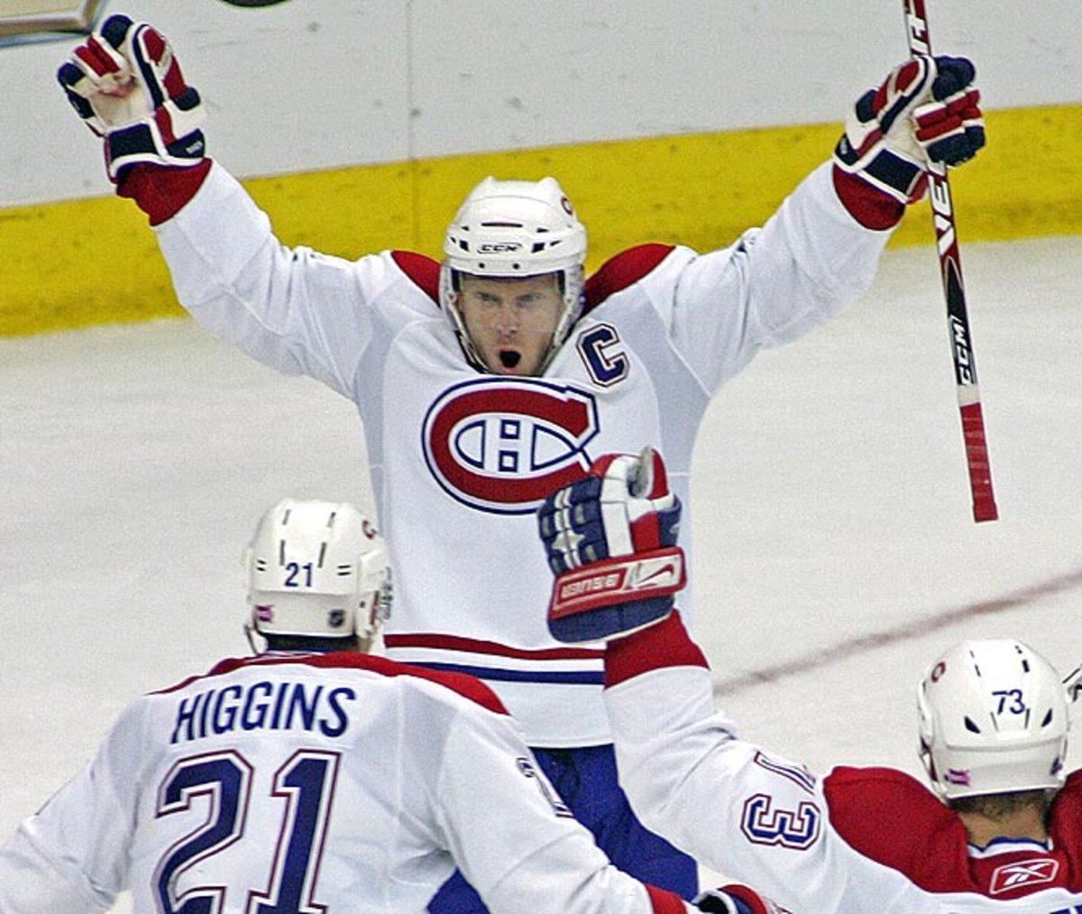 Canadiens 3, Hurricanes 2 (OT)