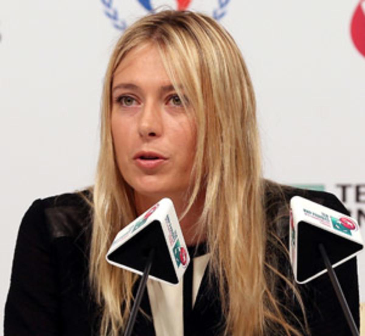 Maria Sharapova WTA Championships