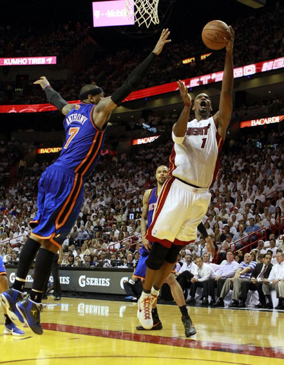 Chris Bosh and Carmelo Anthony