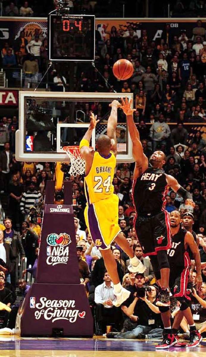 Kobe Bryant and Dwayne Wade