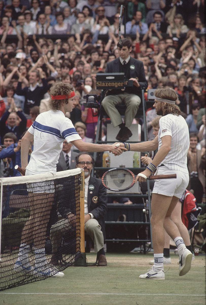 John McEnroe and Björn Borg