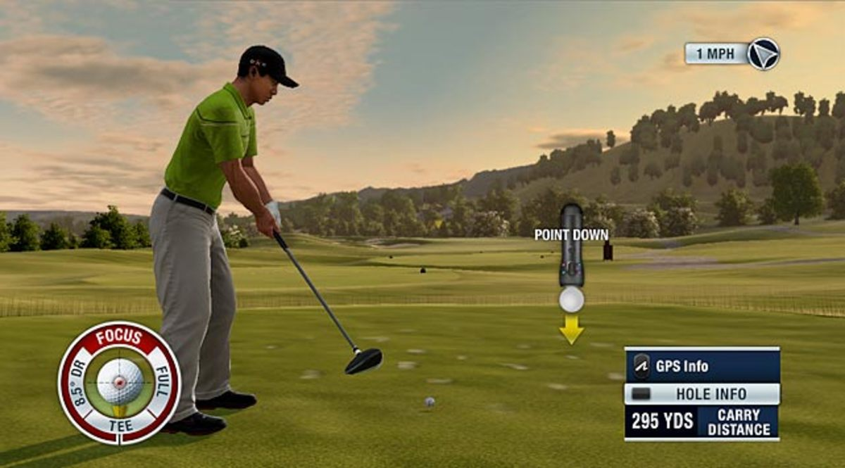 Tiger Woods PGA Tour 11 (with Move)