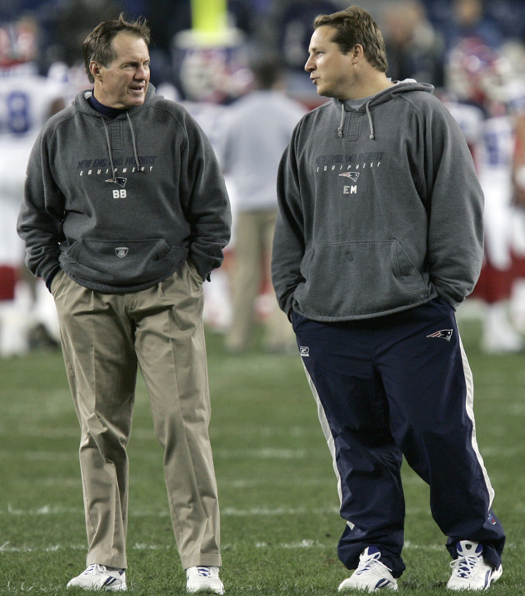 Bill Belichick and Eric Mangini