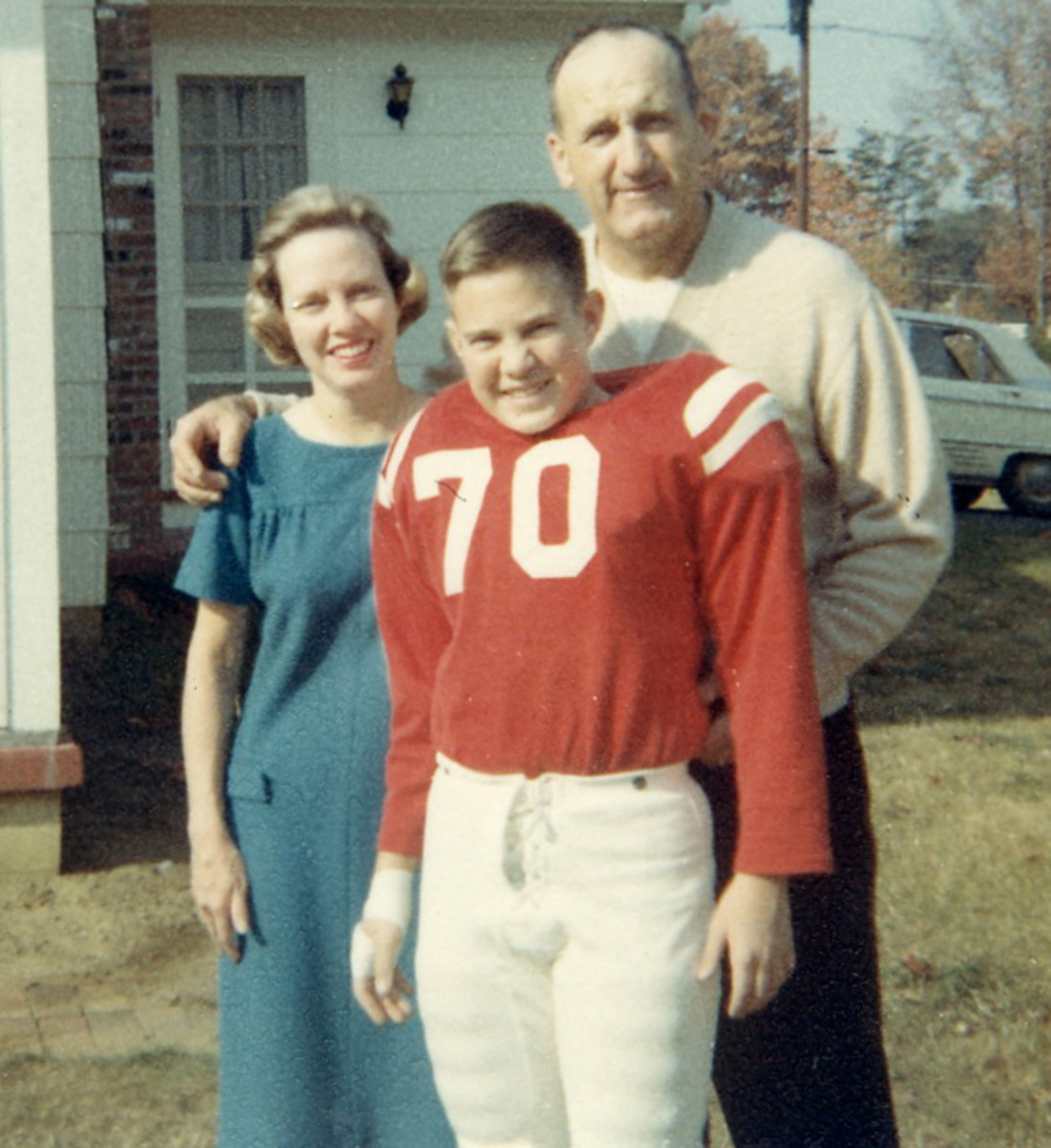 Bill Belichick and Parents