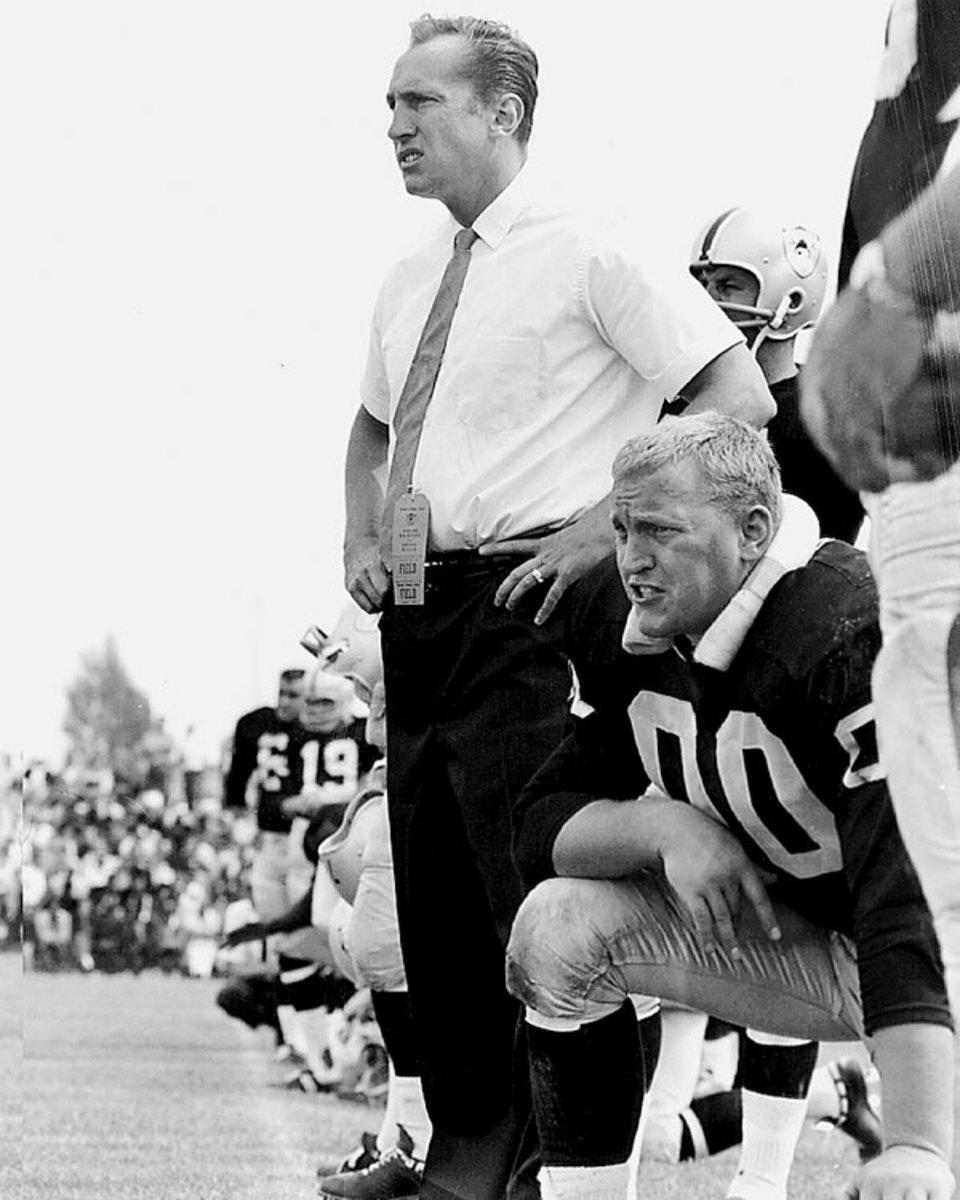 Al Davis and Jim Otto