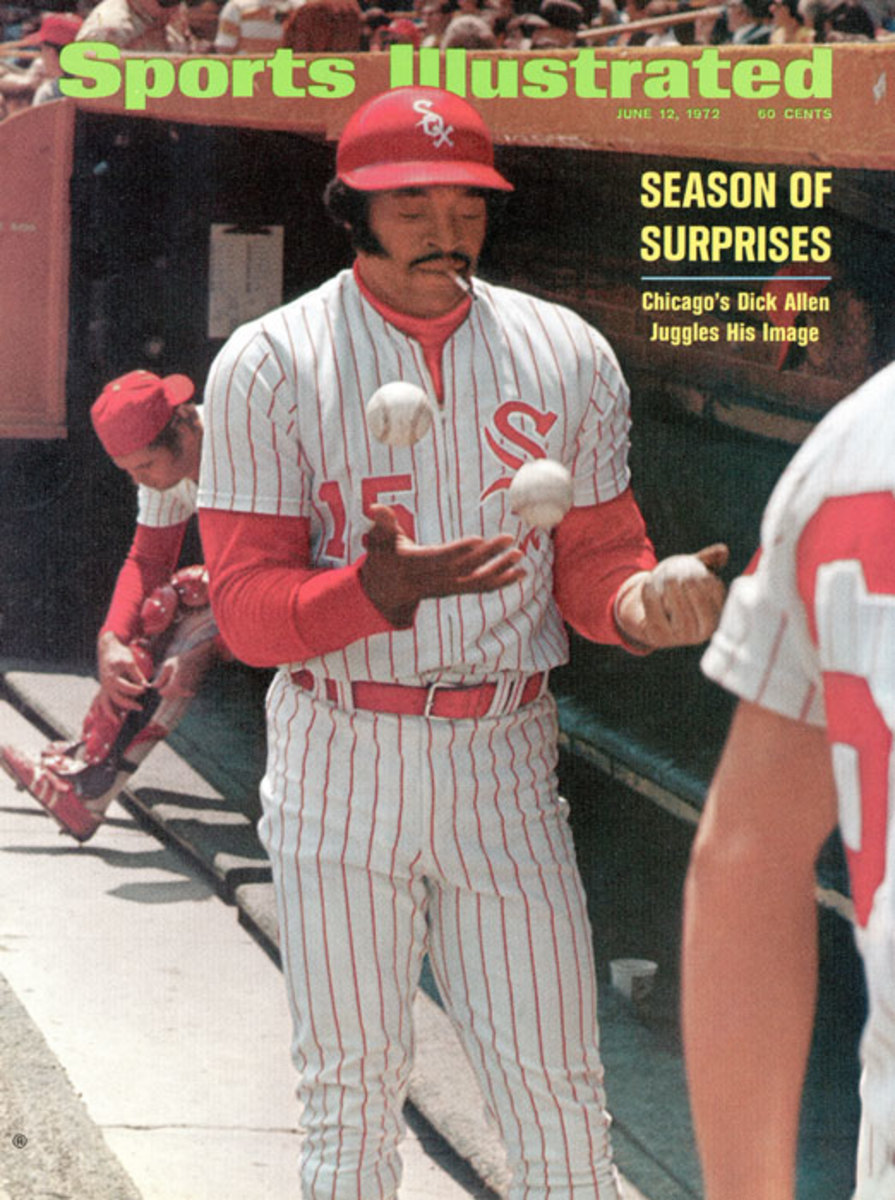 Dick Allen SI cover: The story behind the iconic 1972 photo - Sports  Illustrated