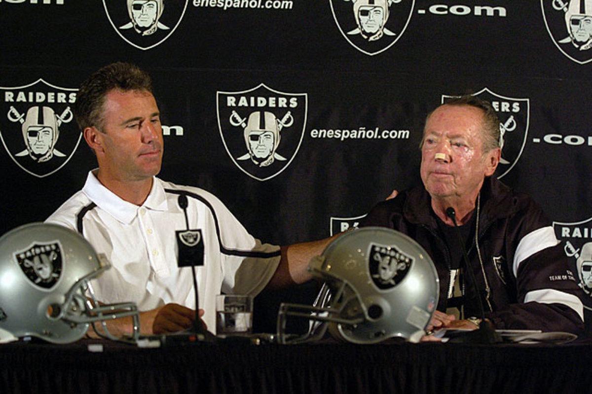 Rich Gannon and Al Davis