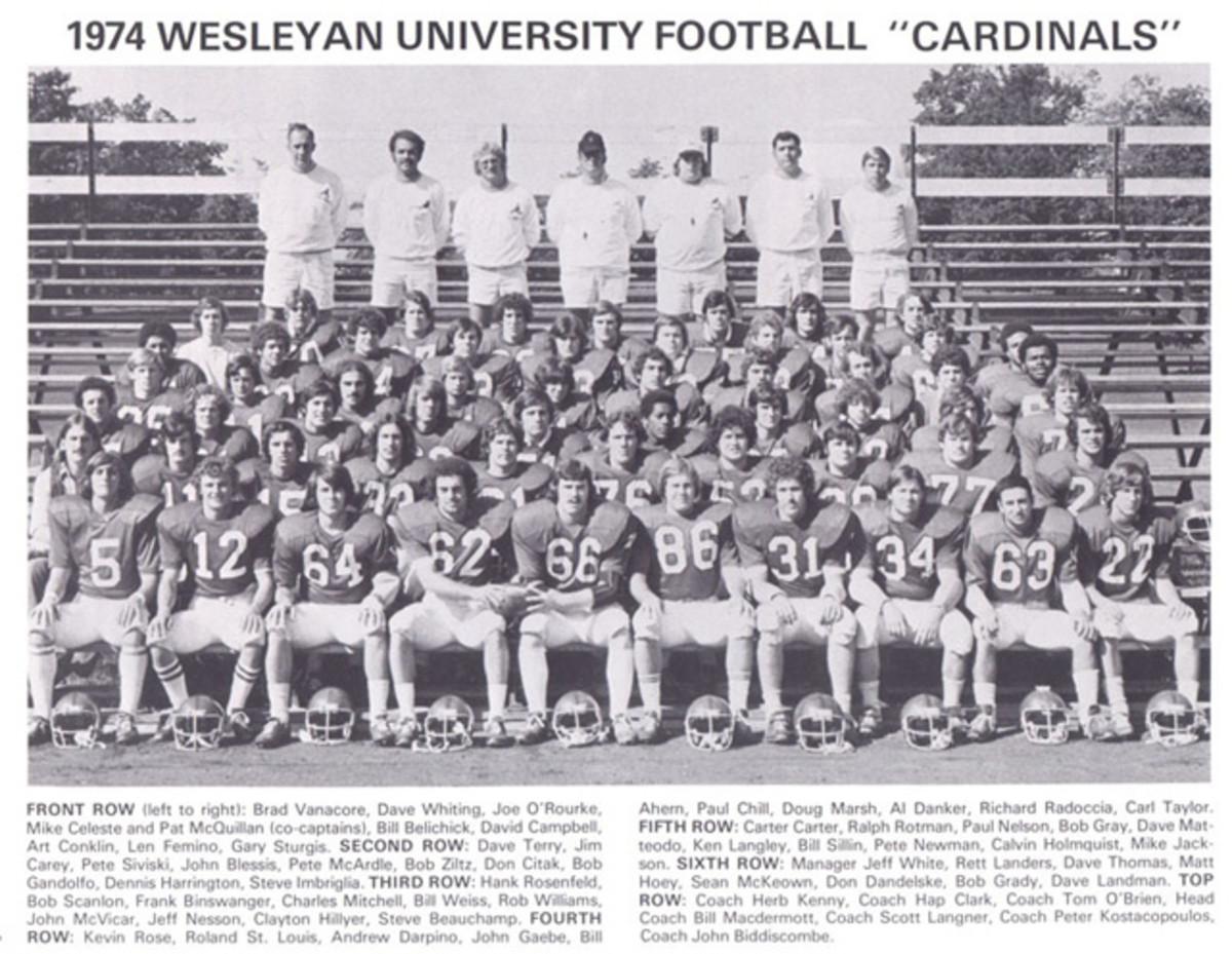 Wesleyan University Football Team