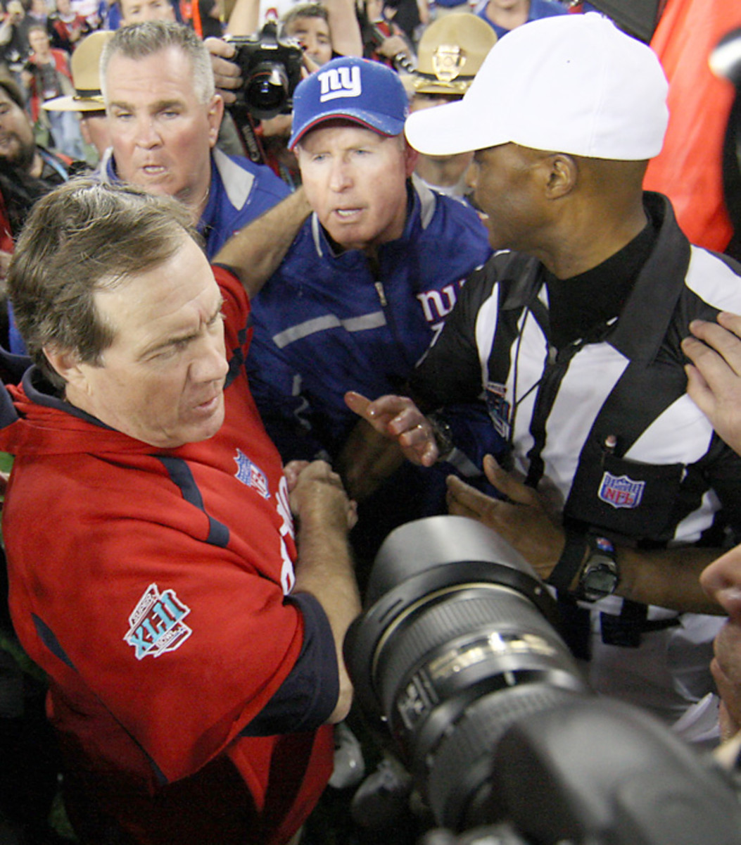 Bill Belichick and Tom Coughlin