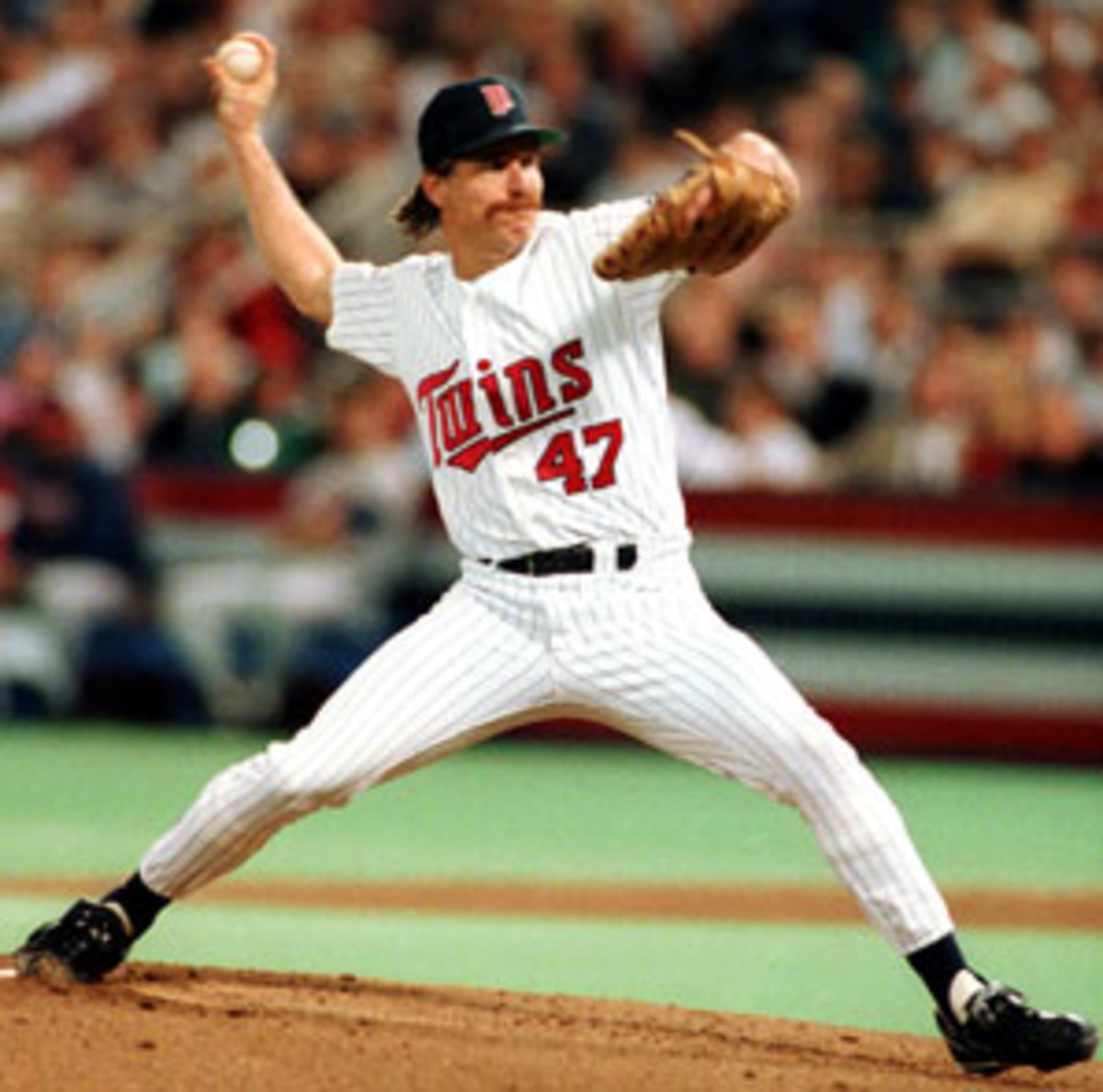 Jack Morris' epic performance in Game 7 of the 1991 World Series was the defining moment of his career. (AP)