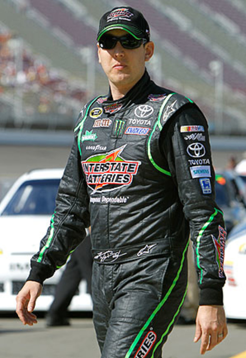 Kyle Busch is currently 14th in points, but a win in Bristol may lock a wild card spot in the Chase for him.