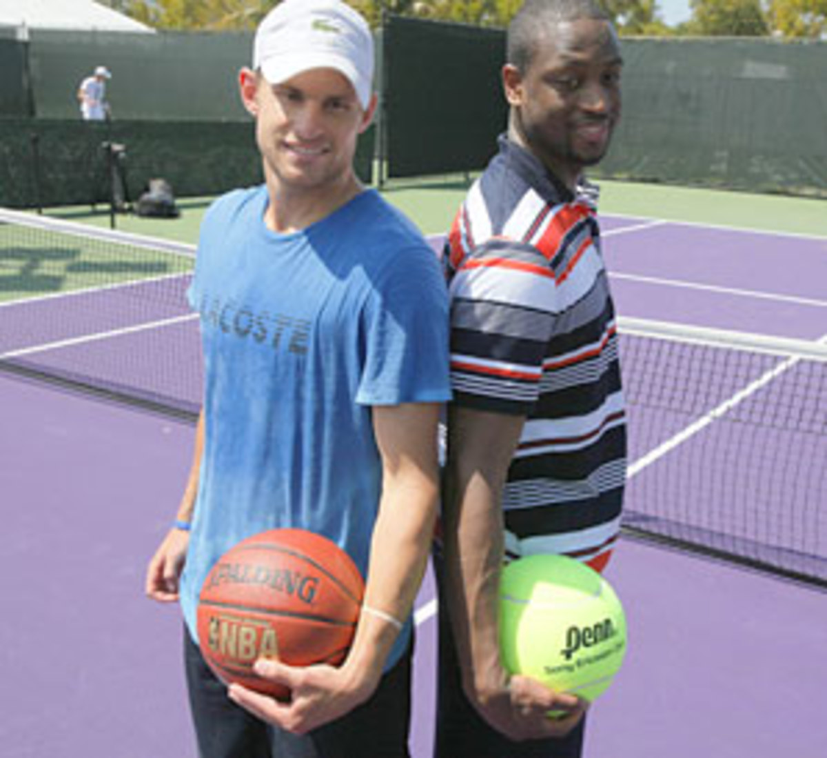 Andy Roddick and Dwayne Wade