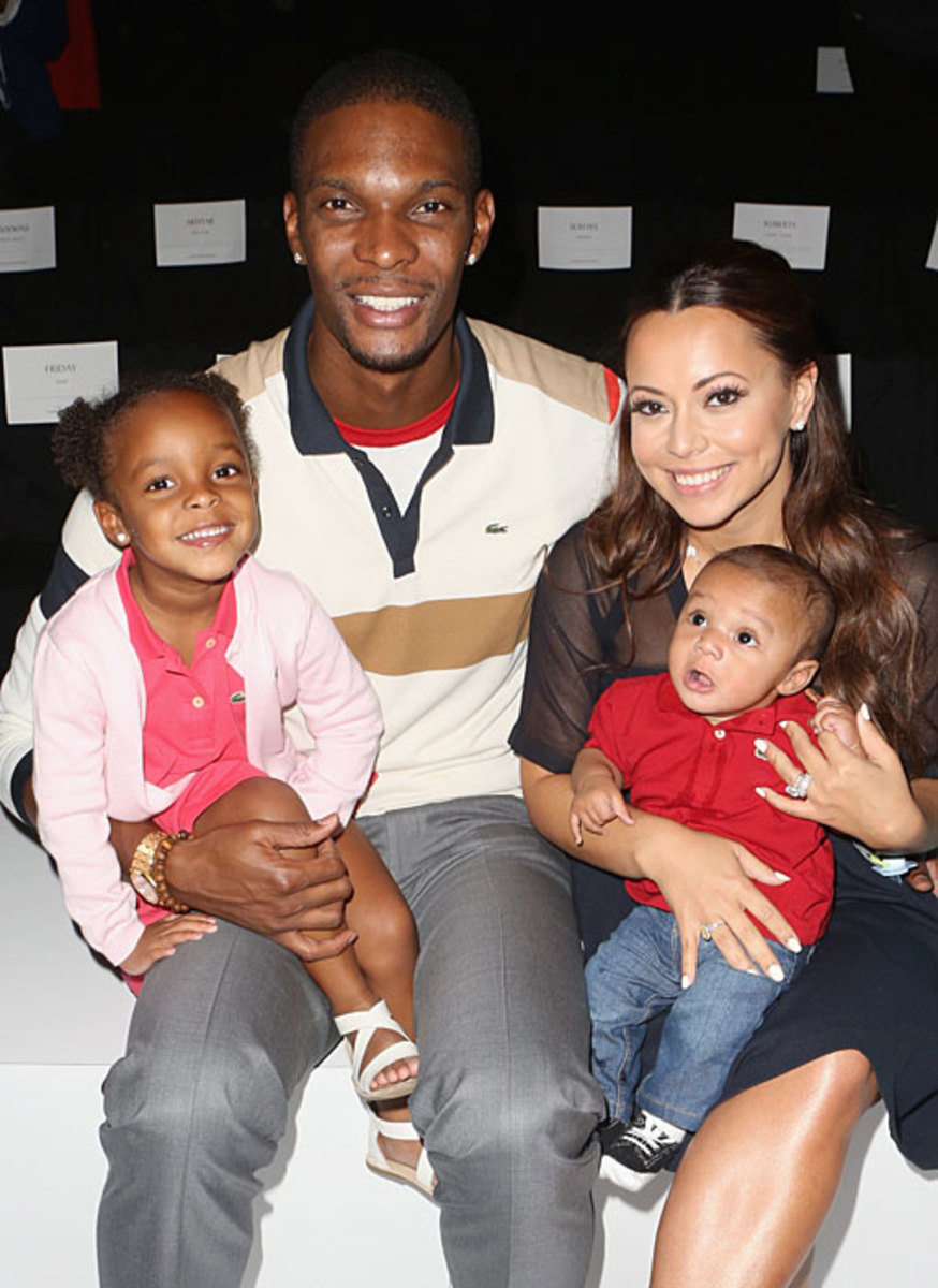 Chris Bosh and Family