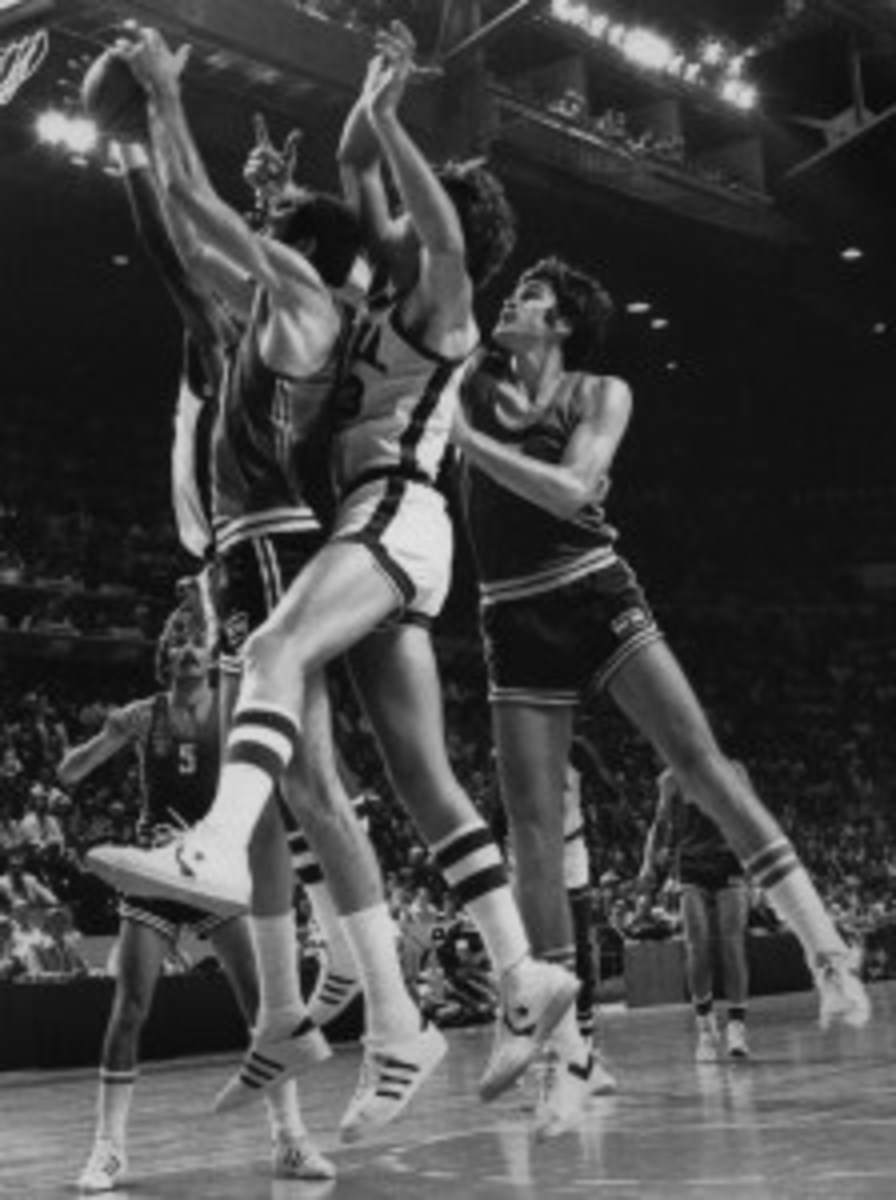 Photo dated 27 July 1976 of Summer Olympics basket