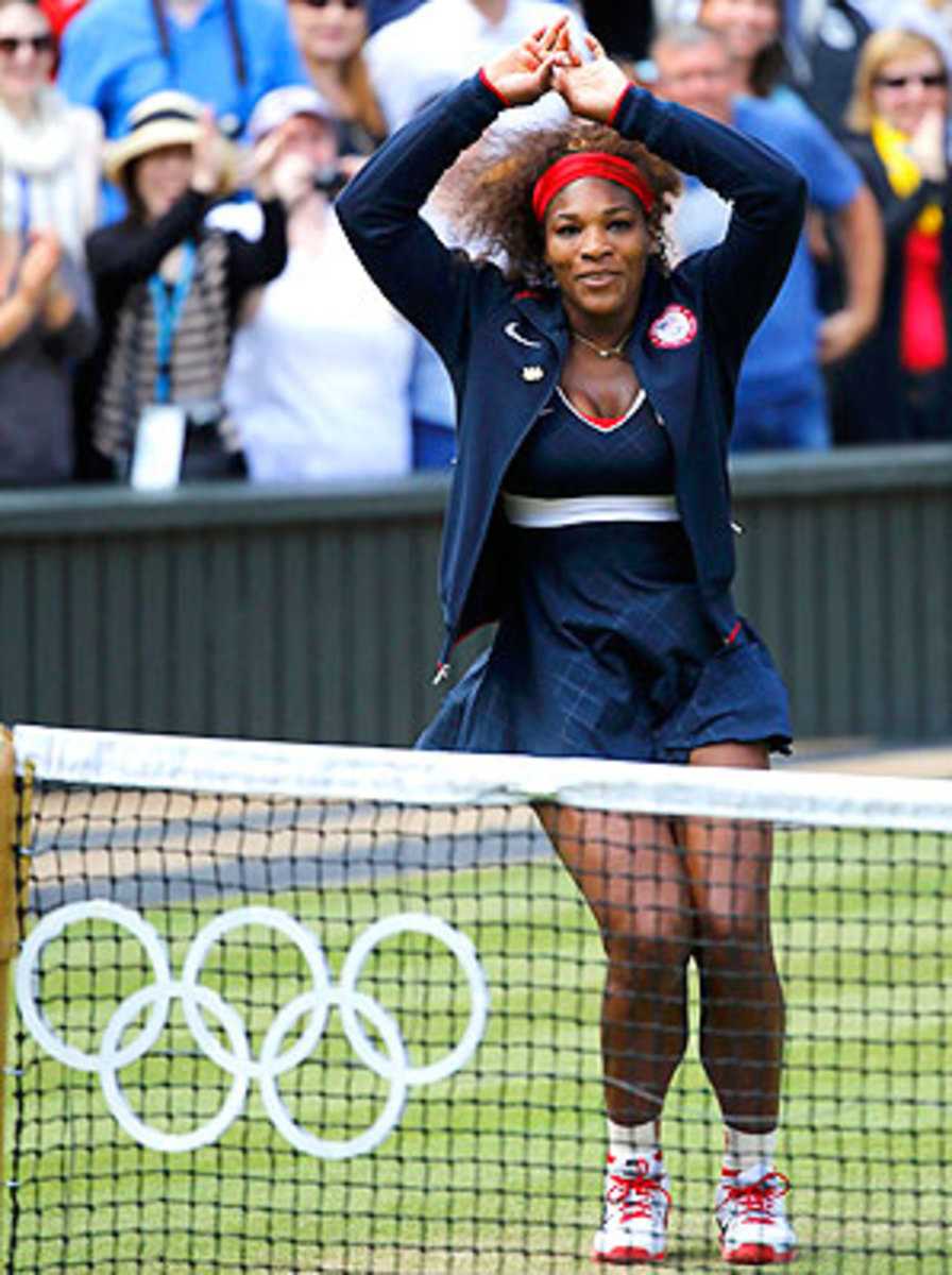 Serena Williams received criticism for her dance after winning the Olympic gold medal.