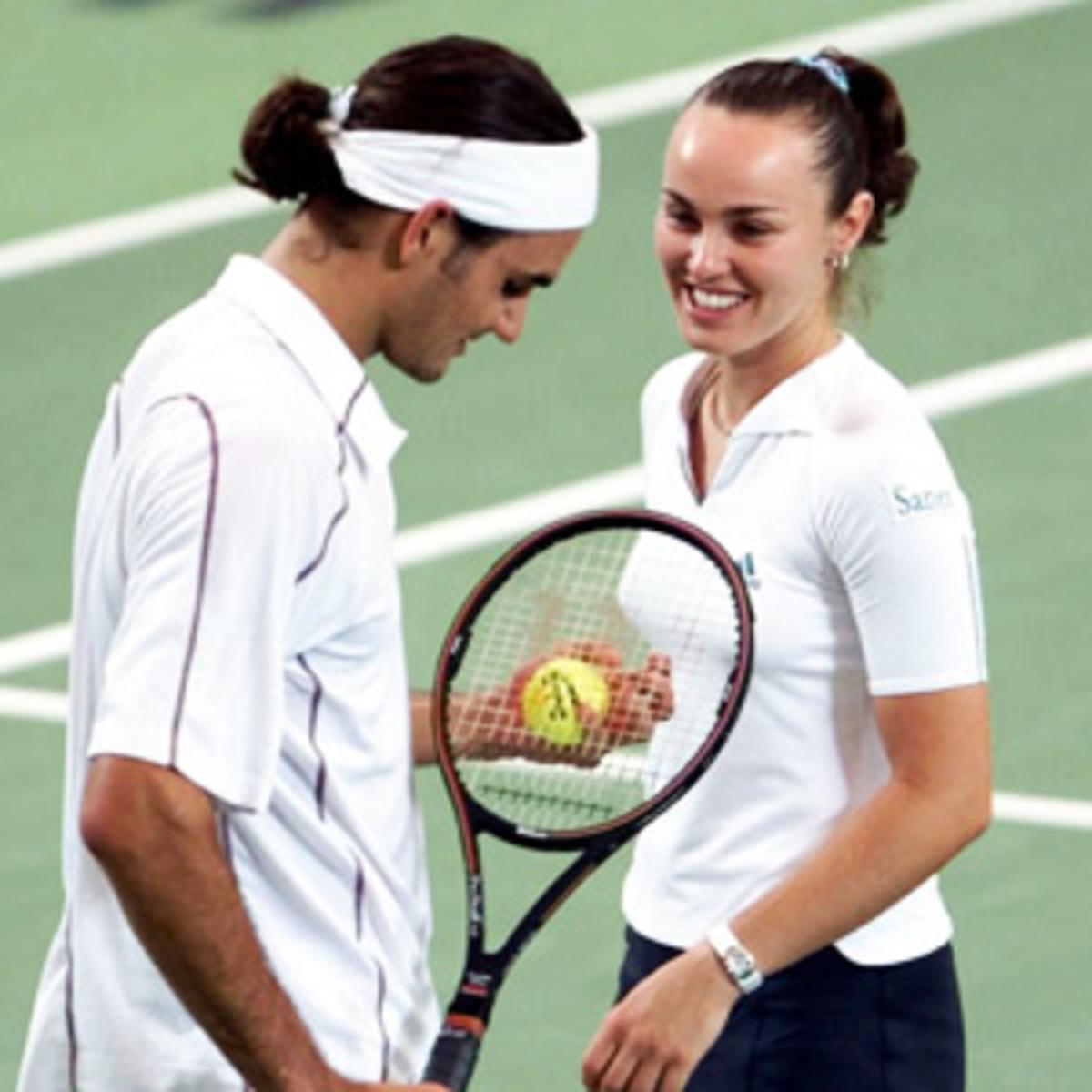 Roger Federer, Martina Hingis