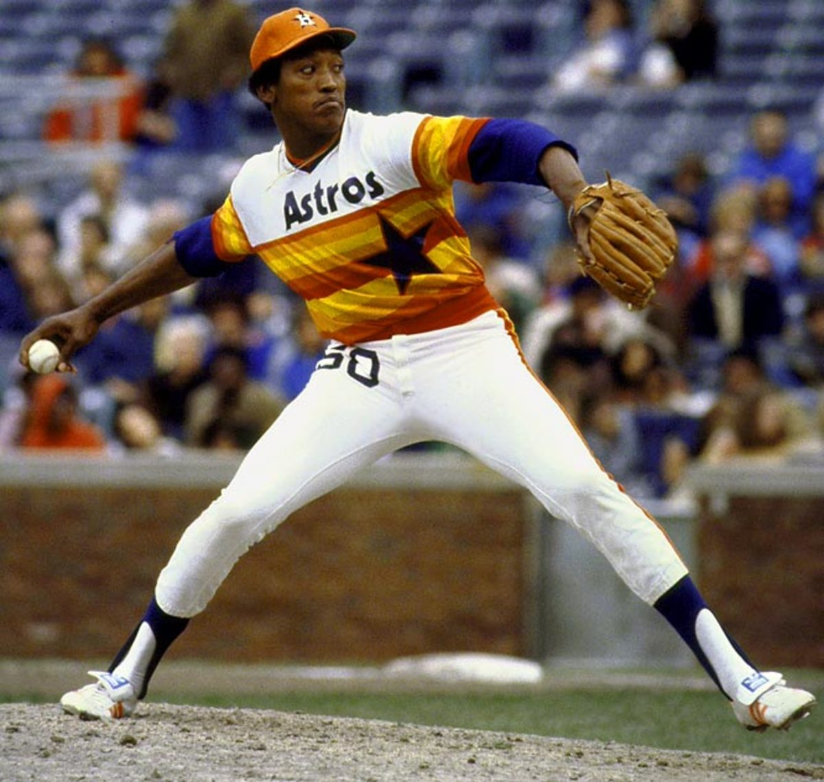 The Astros uniforms of the late '70s and early '80s