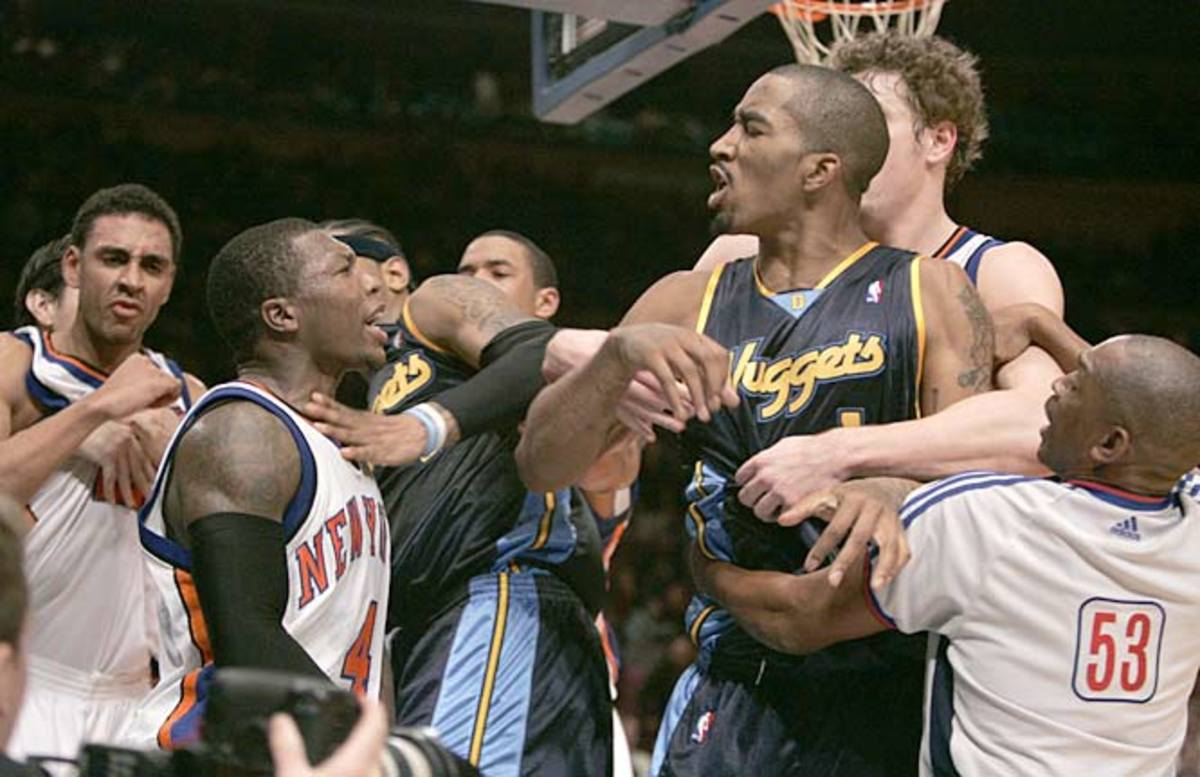 New York Knicks and Denver Nuggets