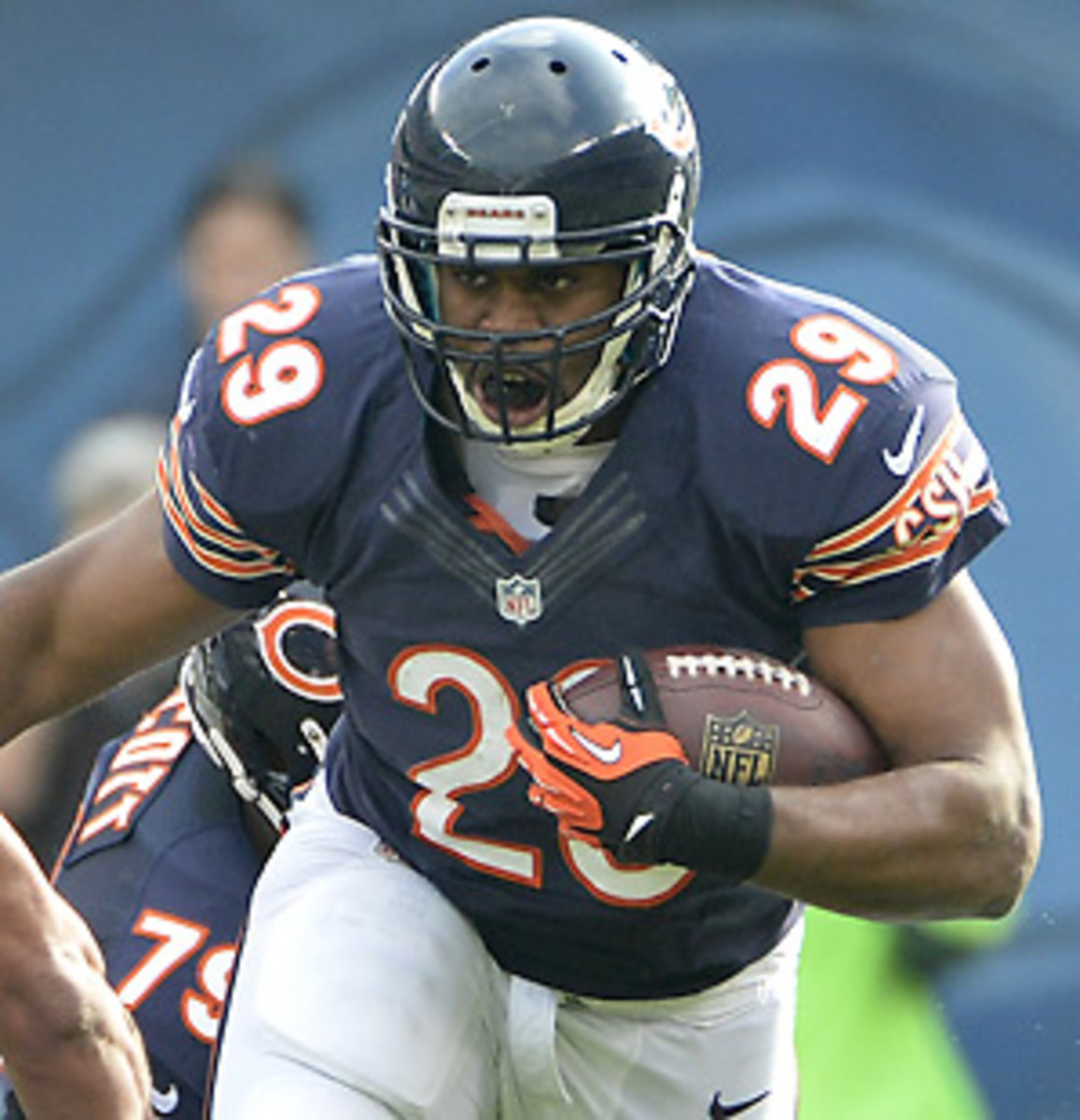 Michael Bush averaged just 3.6 yards per carry in 2012, the lowest of his five-year career.