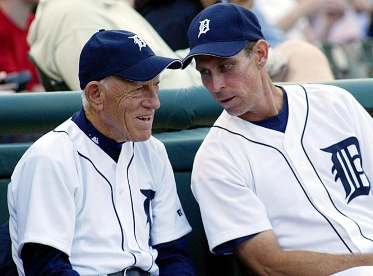 Sparky Anderson and Alan Trammell