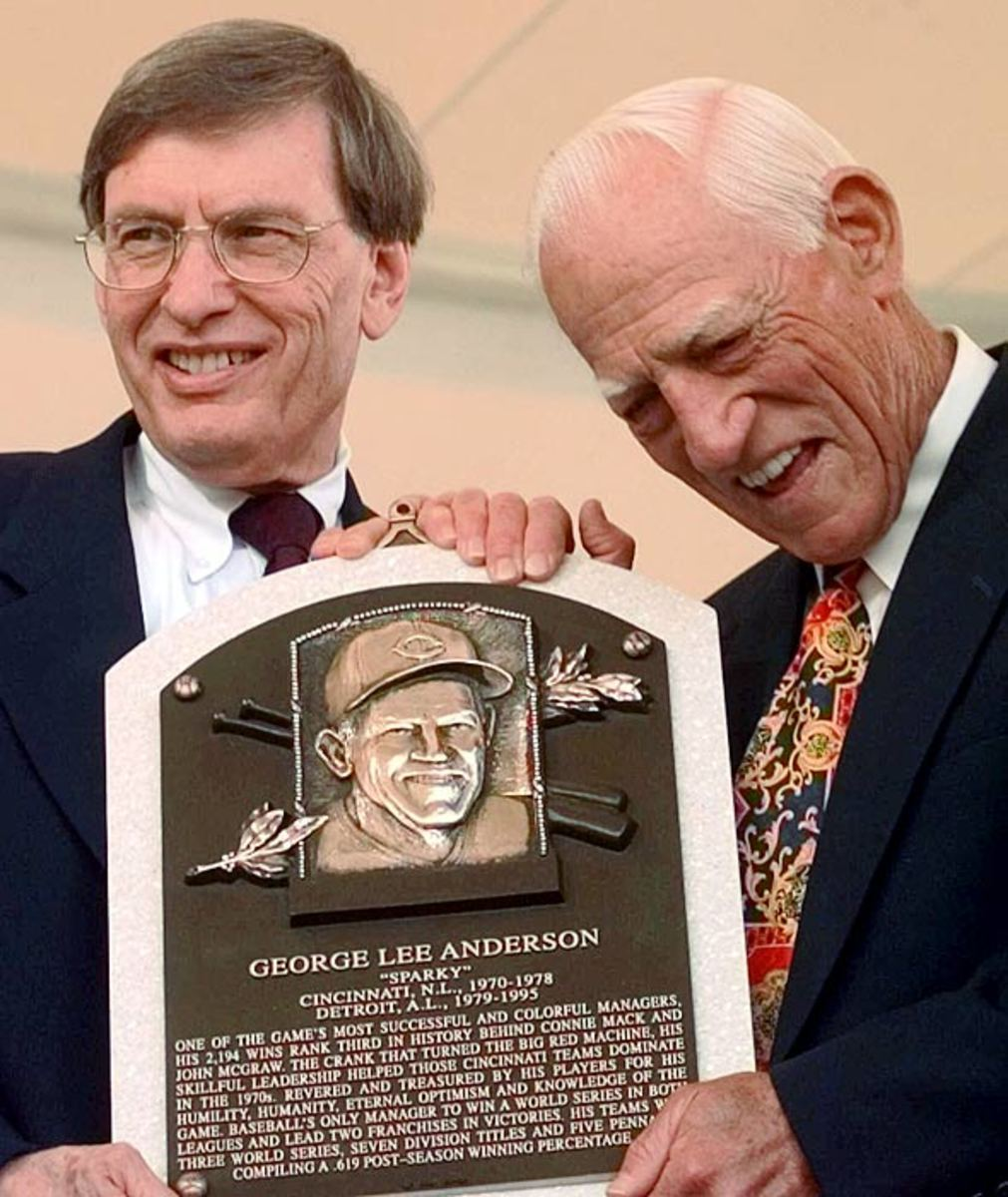 Bud Selig and Sparky Anderson