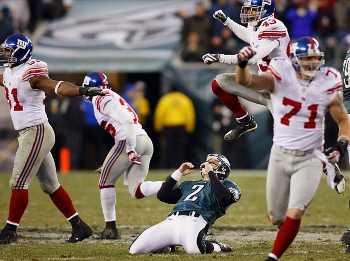 Giants 16, Eagles 13