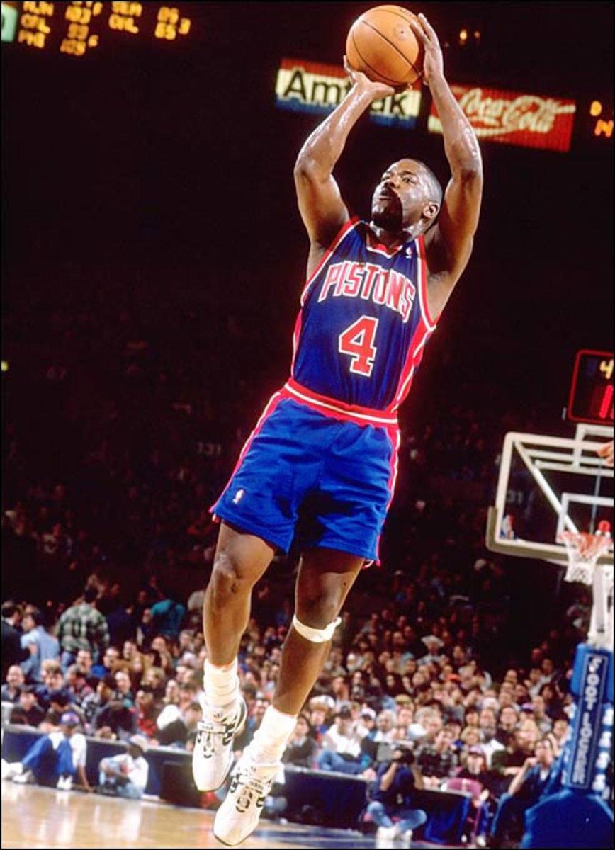 Joe Dumars, Pistons