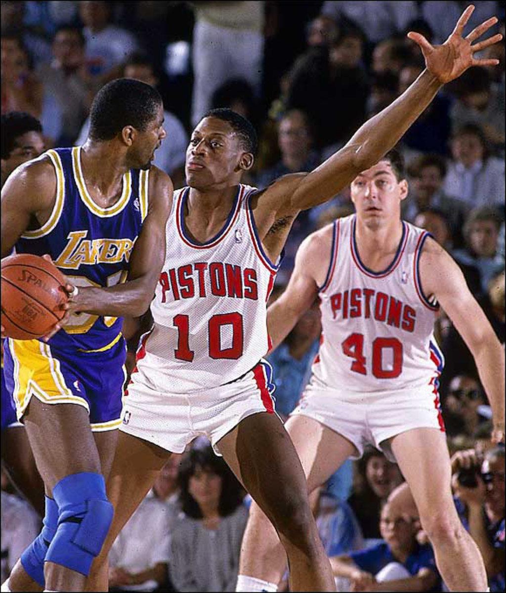 Dennis Rodman, Pistons