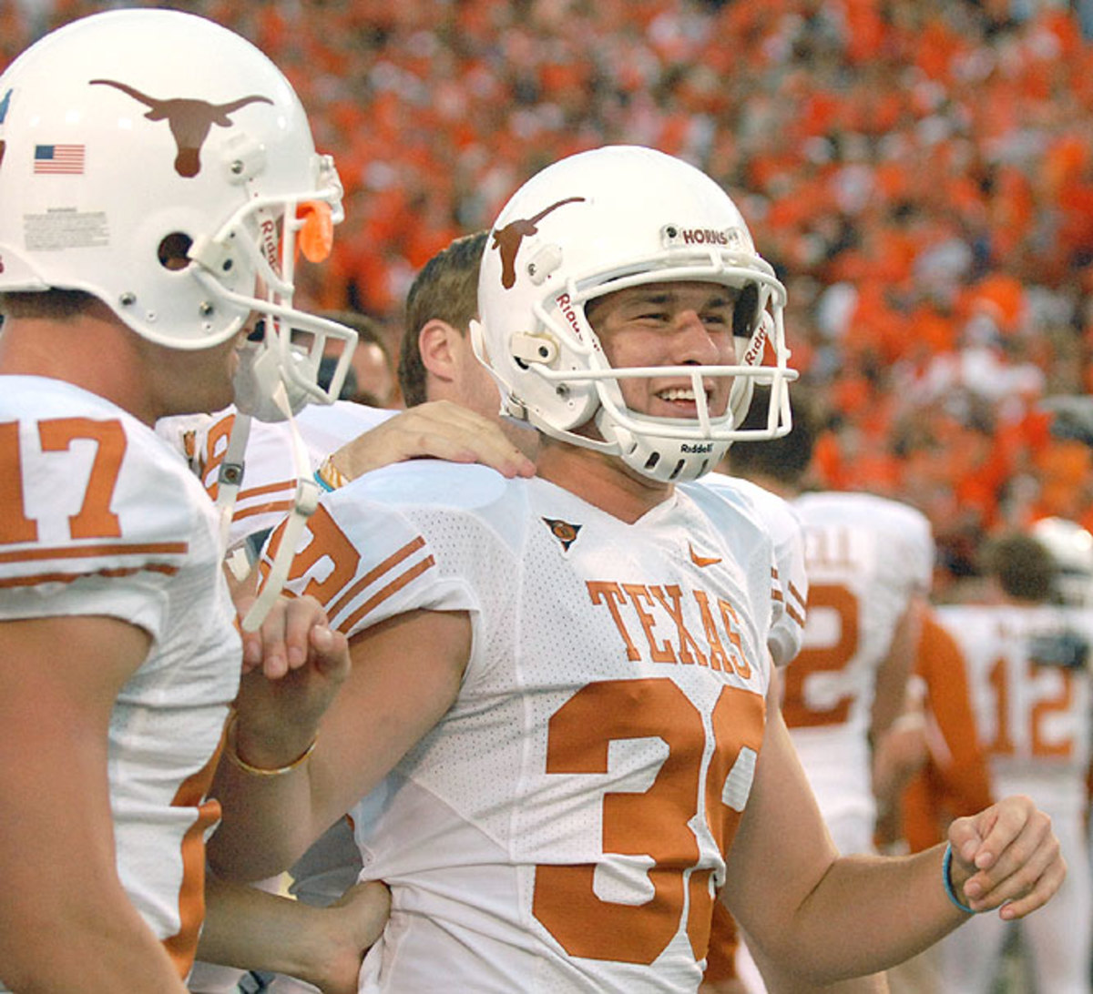 No. 14 Texas 38, Oklahoma State 35