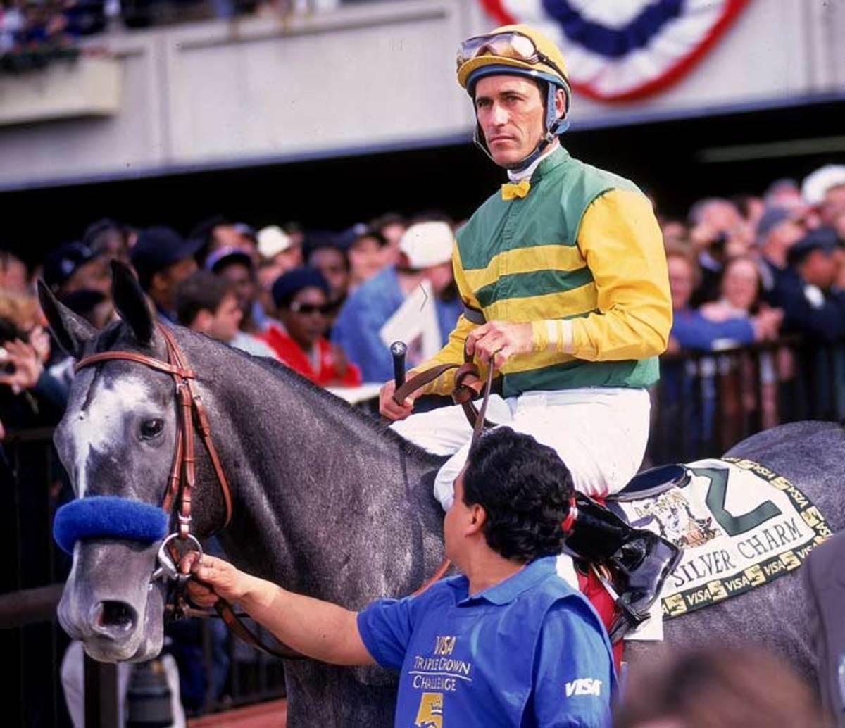 Jockey Gary Stevens