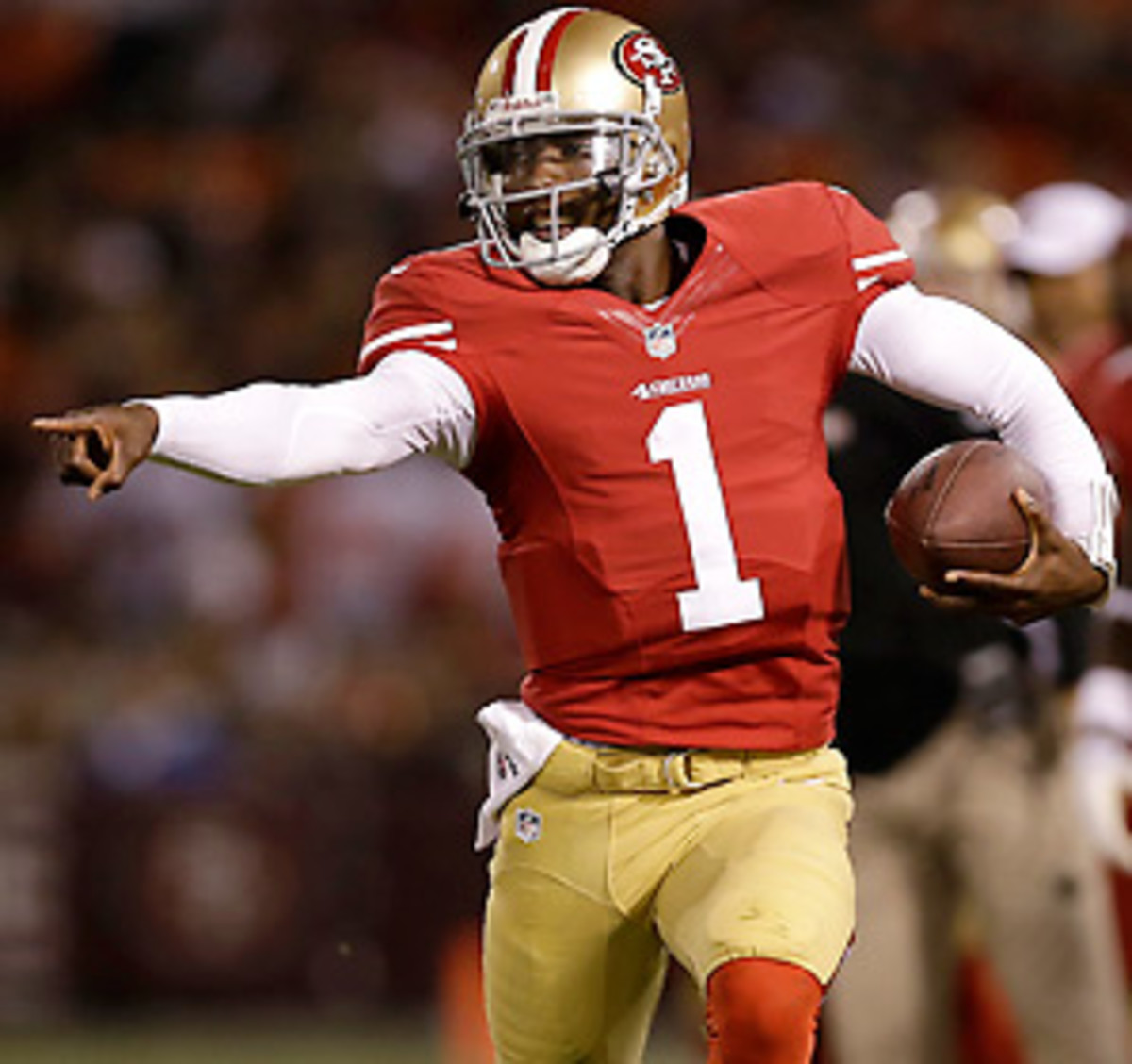 Josh Johnson was signed by the 49ers in March, but released in August, after spending four years with the Buccaneers as a fifth-round pick.