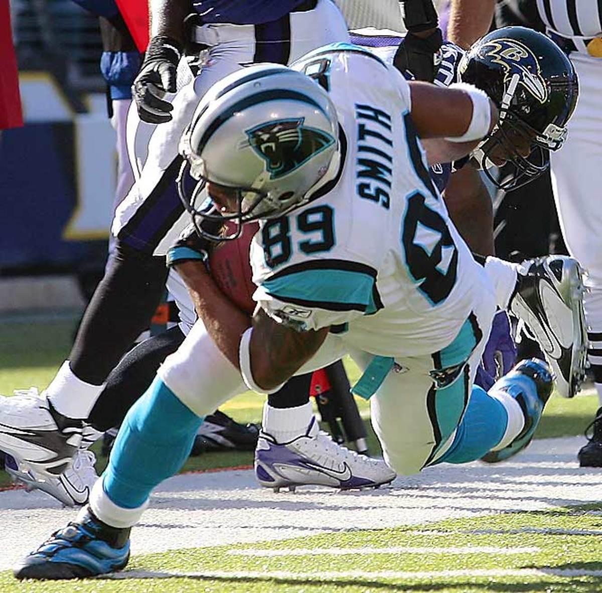 Panthers 23, Ravens 21
