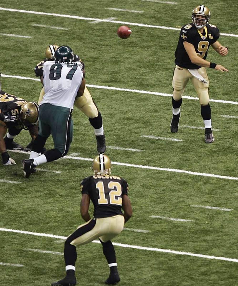 Saints 27, Eagles 24