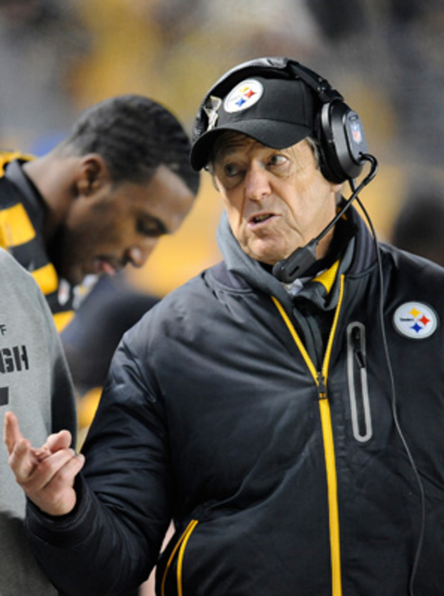 Dick Lebeau, 75, has been in the NFL for 54 consecutive seasons.