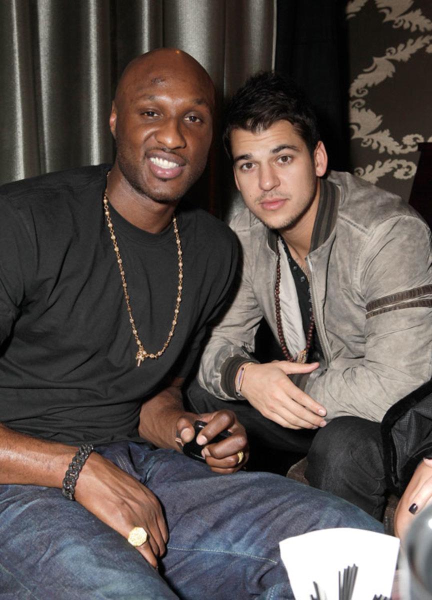 Lamar Odom, Rob Kardashian