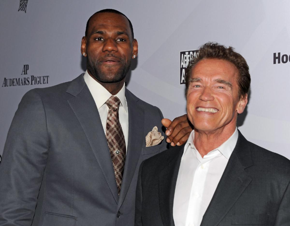 LeBron James, Arnold Schwarzenegger
