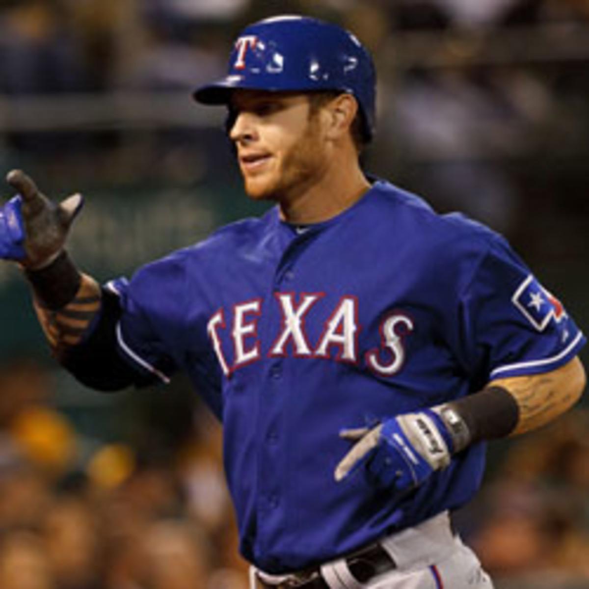 The Angels and free-agent Josh Hamilton reportedly agree to a five-year deal. (Jason O. Watson/Getty Images)