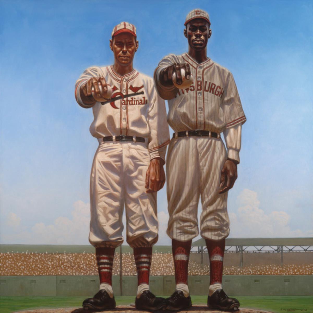 Dizzy Dean | St. Louis Cardinals, Satchel Paige | Pittsburgh Crawfords