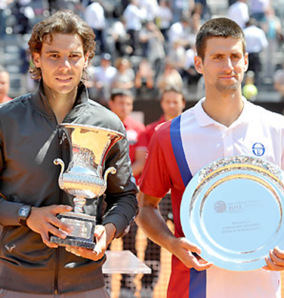 Rafael Nadal came out on top over Novak Djokovic in their last two meetings in Rome and Monte Carlo.
