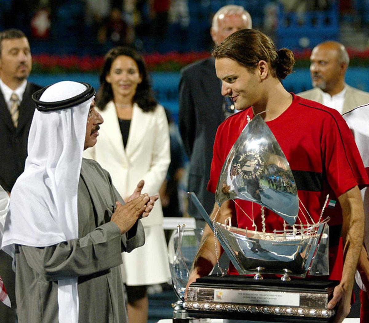 Week 5, '04 Dubai Tennis Championships   March 1, 2004